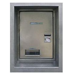 Geldwechselautomat - Tür Rechtsanschlag