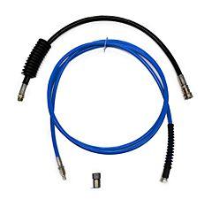 HD-Schlauch Schnellkupplung Set blau 4M