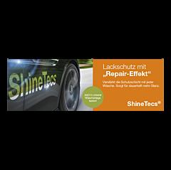 """Banner """"ShineTecs"""" 3 x 1 Meter - Orange"""