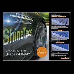 """Poster """"ShineTecs""""-A4 quer (Pump-Topper)"""