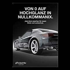 """Poster """"Von 0 auf Hochglanz"""" - A1"""