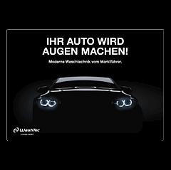 """Poster """"Ihr Auto wird ...""""- A4 quer"""