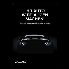 """Poster """"Ihr Auto wird Augen machen"""" - A4"""