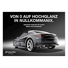 """Poster """"Von 0 auf Hochglanz"""" - A4 quer"""