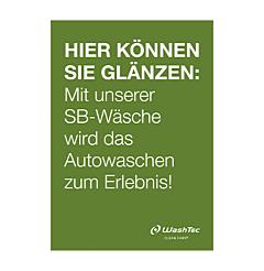 Poster für SB-Plätze A1 grün