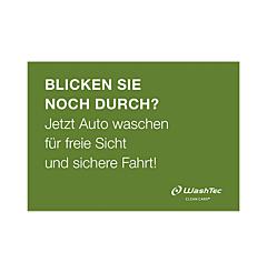 """Pumptopper """"Durchblick"""" A4 grün"""