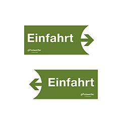"""Einfahrtsschild """"Einfahrt"""", grün"""