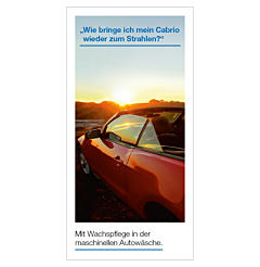 "Flyer ""Cabrio"" - VPE 250 Stück"