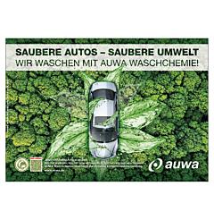 "Poster ""Green Car Care""-A4 quer"