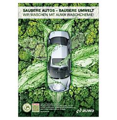 "Poster ""AUWA Green Car Care"" - A2"