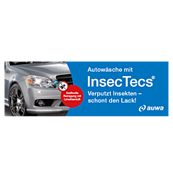 """Banner """"InsecTecs"""" 3 x 1 Meter"""