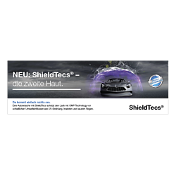 "Banner ""ShieldTecs"" 3 x 1 Meter"