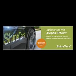 "Banner ""ShineTecs"" 3 x 1 Meter - Grün"