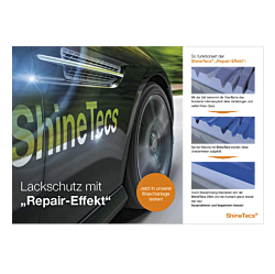 "Poster ""ShineTecs""-A4 quer (Pump-Topper)"