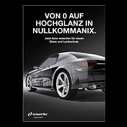 """Poster """"Von 0 auf Hochglanz""""  - A3"""