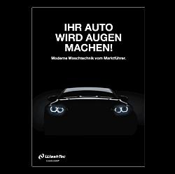 """Poster """"Ihr Auto wird Augen machen"""" - A0"""